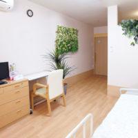 イミテーショングリーン介護施設のデザイン例 - 個室