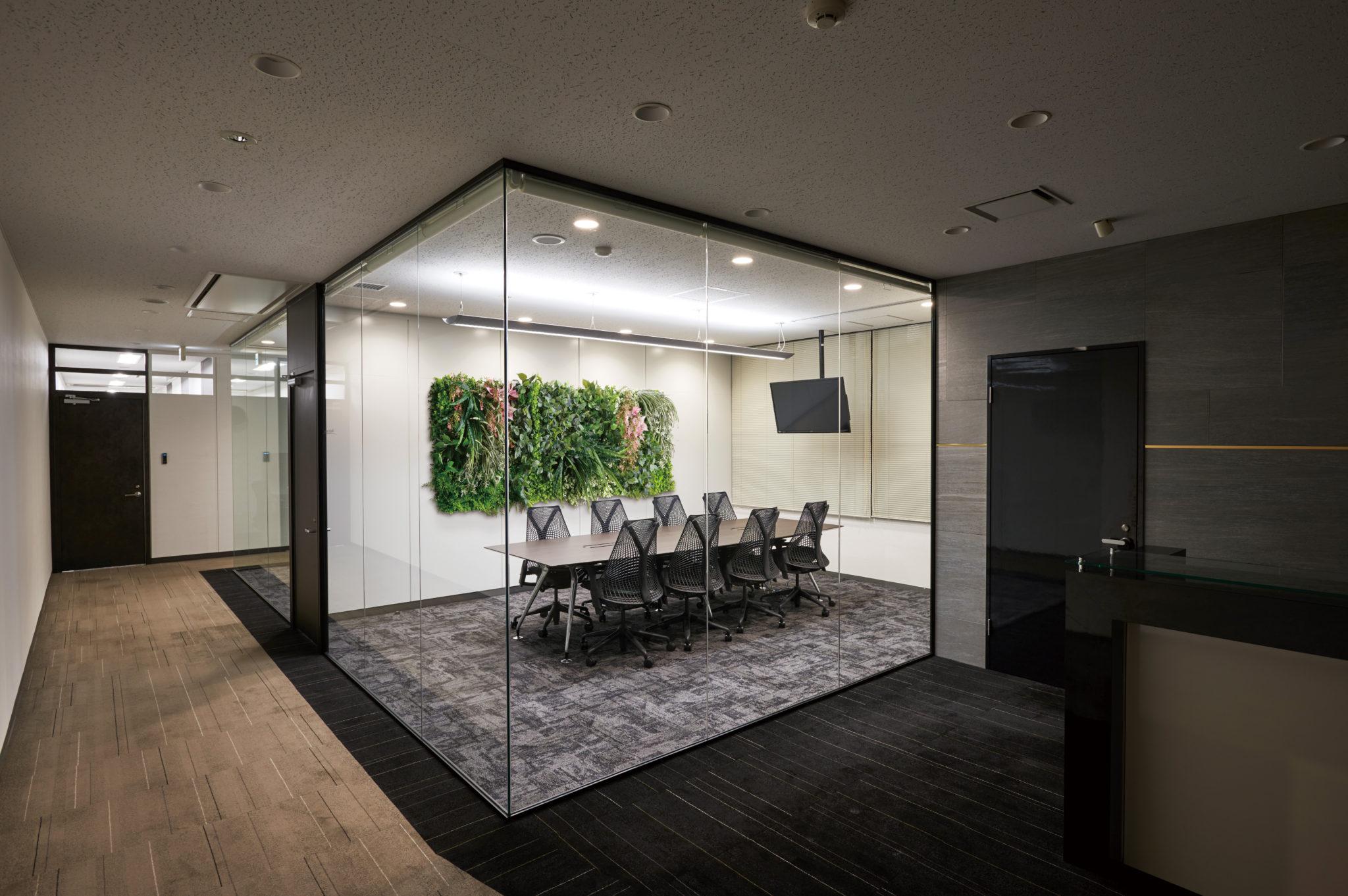 会議室 - ミーティングルームの壁_after