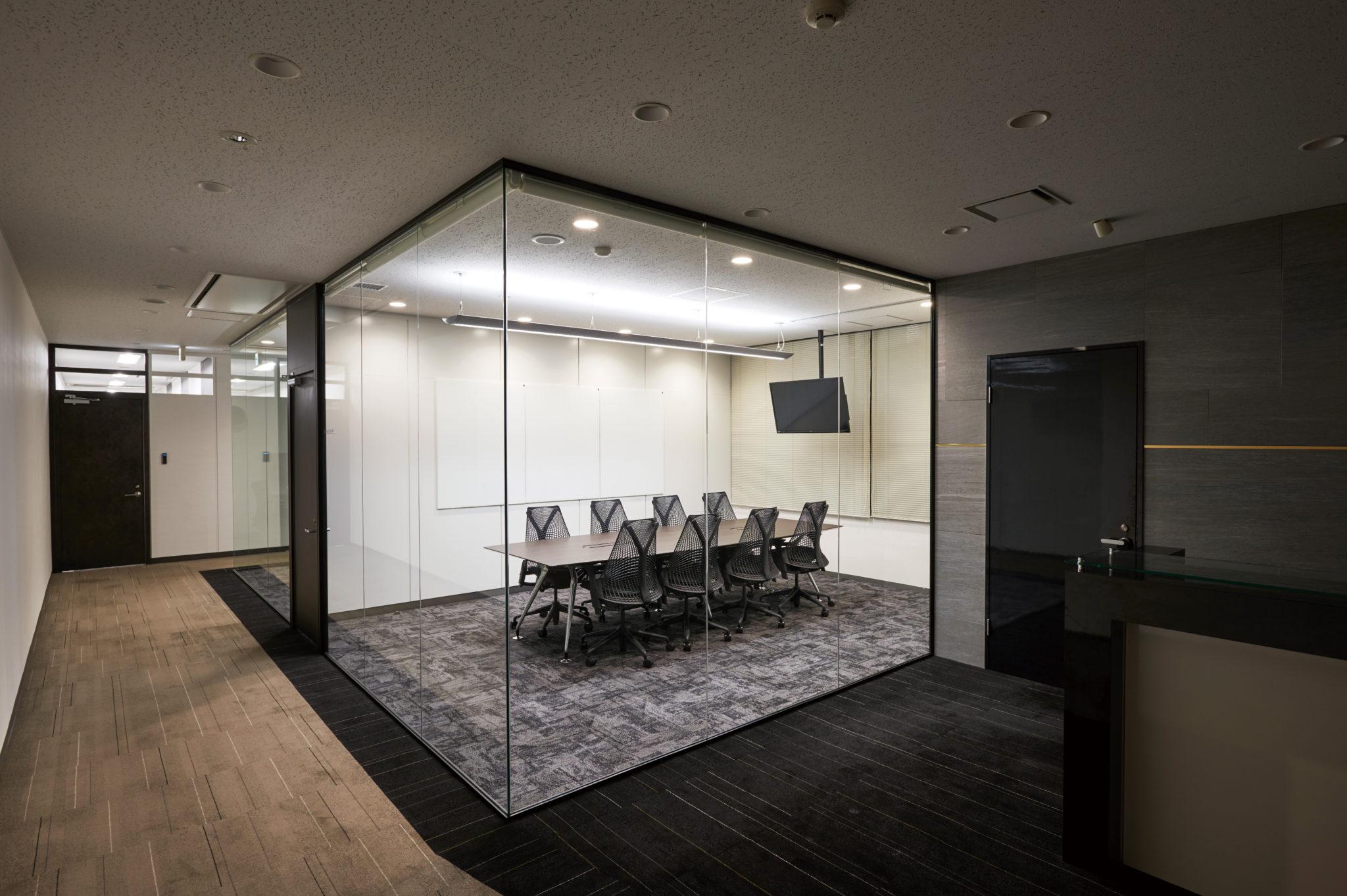 会議室 - ミーティングルームの壁_before