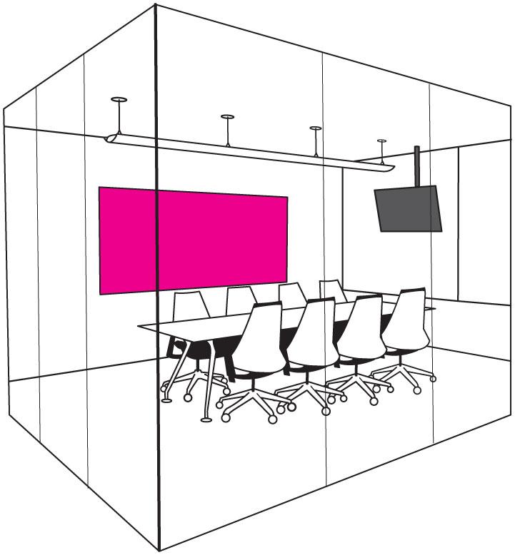 会議室 - ミーティングルームの設置場所