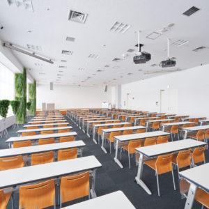イミテーショングリーン学校の施工例 - 講義室_after