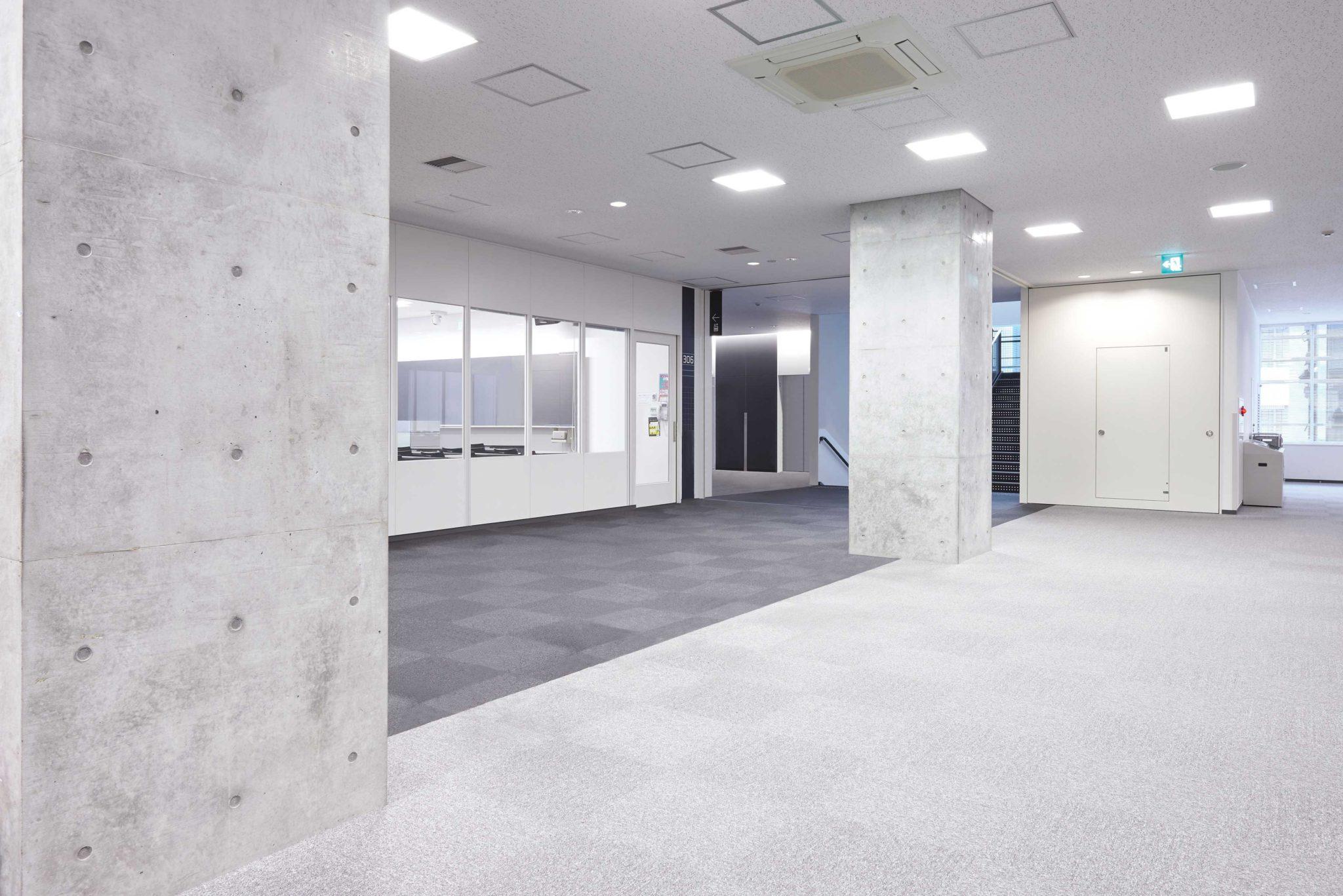学校 - 廊下_before