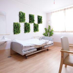 イミテーショングリーン介護施設 - 個室の施工例_after