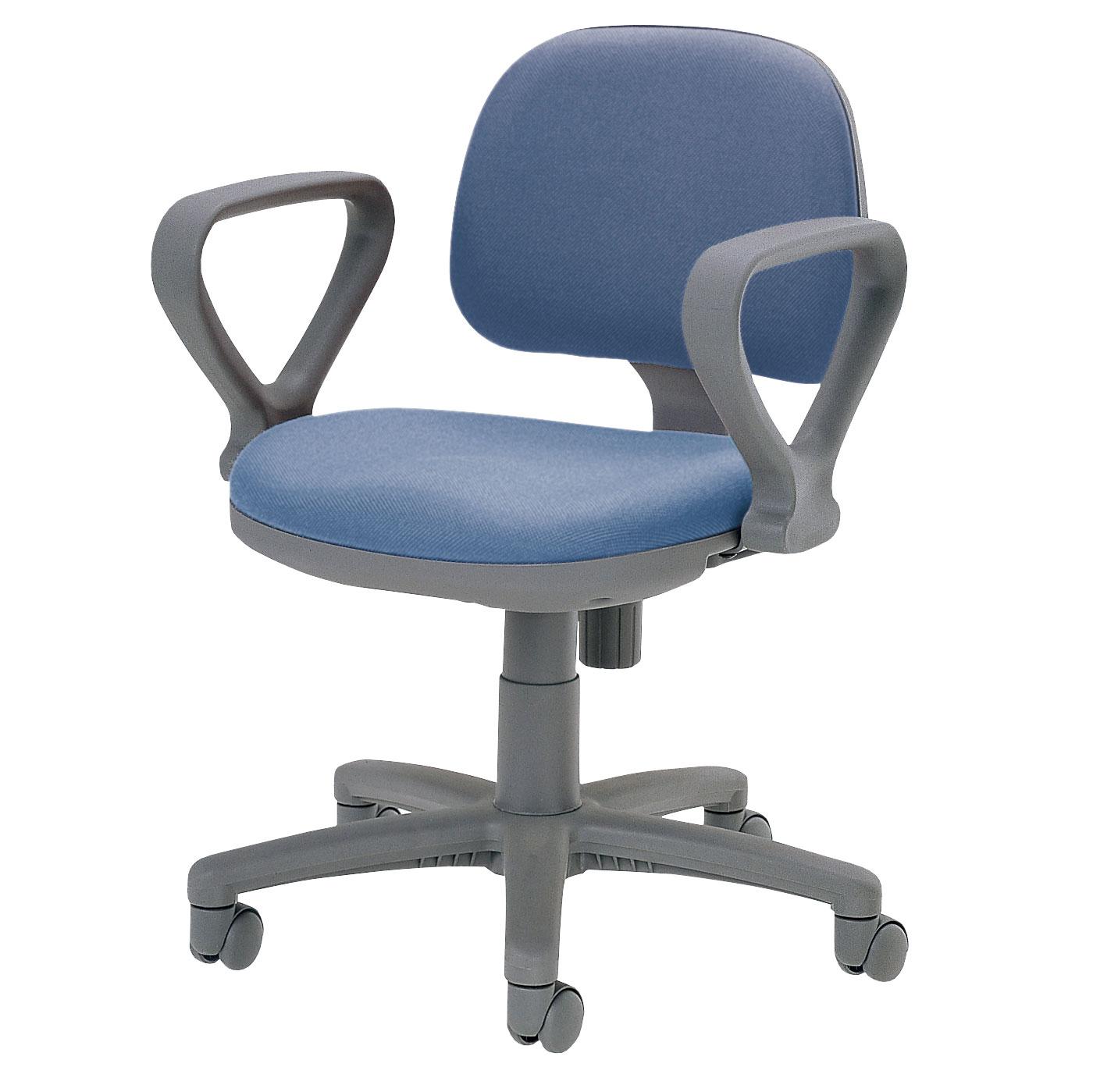 オフィスチェアFST-3A_ブルー
