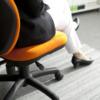 オフィスイスFST-77 女性が座ったイメージ