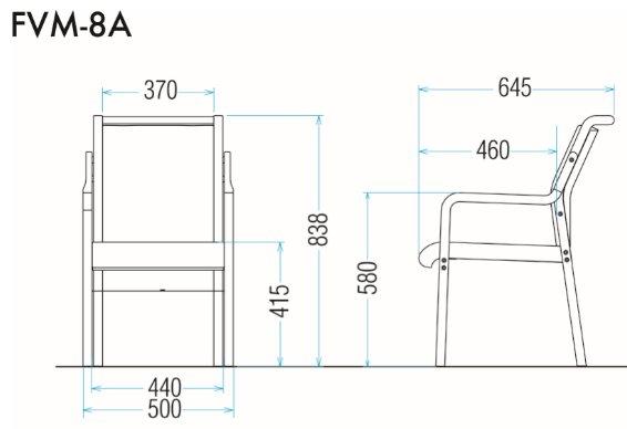 FVM-8Aの図面