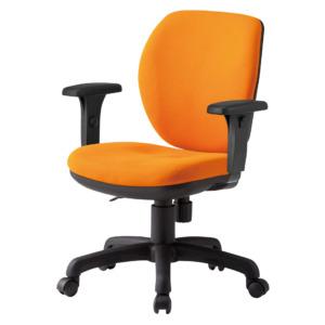 オフィスチェアFST-77AT_オレンジ