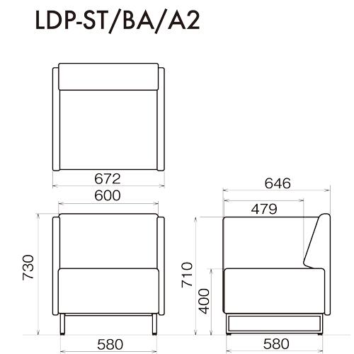 LDP-ST-BA-A2の図面