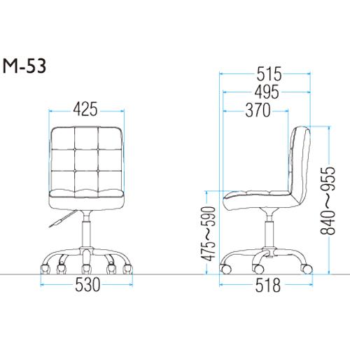 M-53Nの図面