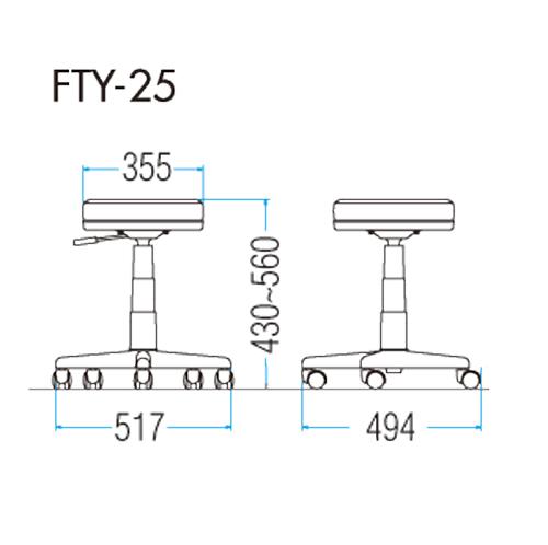 FTY-25の図面