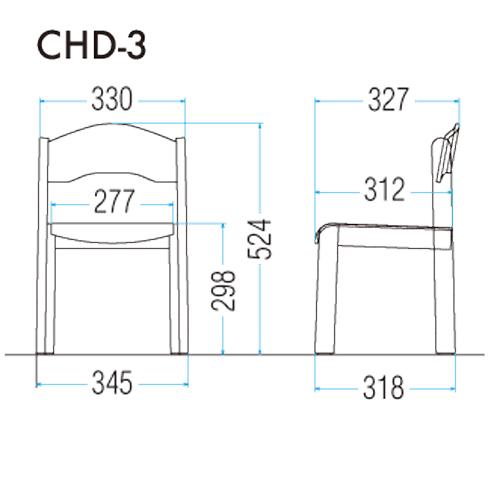 CHD-3の図面