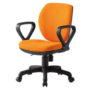 オフィスチェアFST-77A_オレンジ