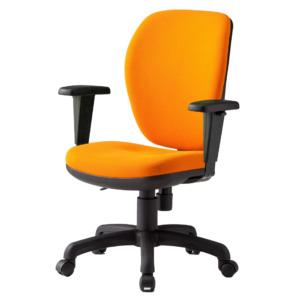オフィスチェアFST-77HAT_オレンジ
