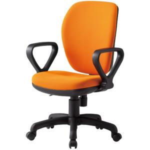 オフィスチェアFST-77HA_オレンジ