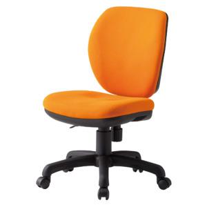 オフィスチェアFST-77_オレンジ