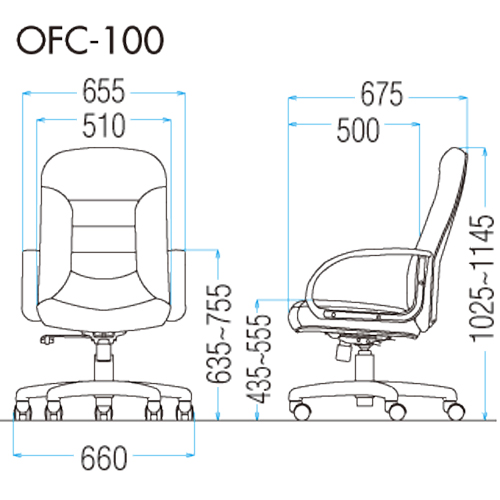 OFC-100の図面