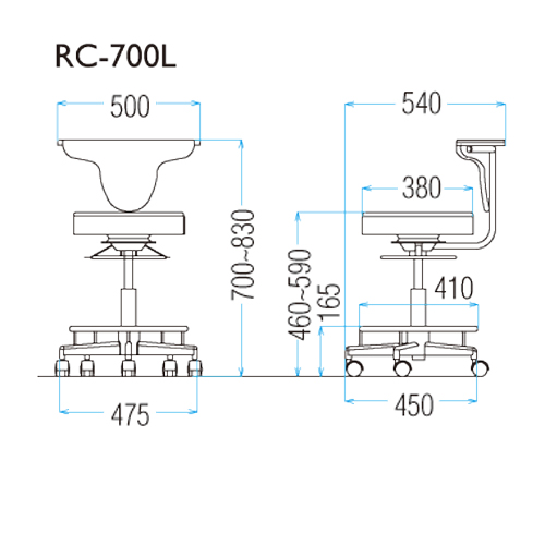 RC-700Lの図面