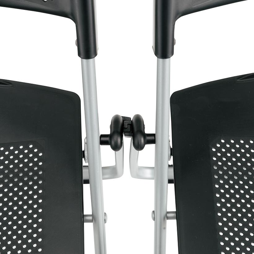 折り椅子(新)ヌードタイプ-連結