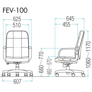 FEV-100の図面