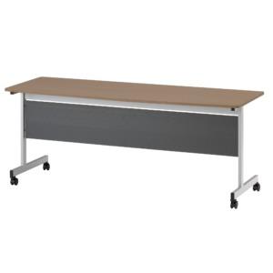 天板固定テーブル_TCN-1860P_ダークウッド
