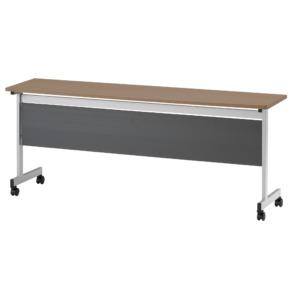 天板固定テーブル_TCN-1845P_ダークウッド