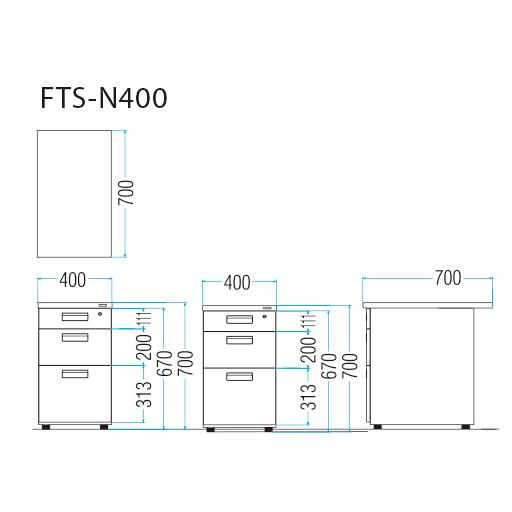 FTS-N400_図面